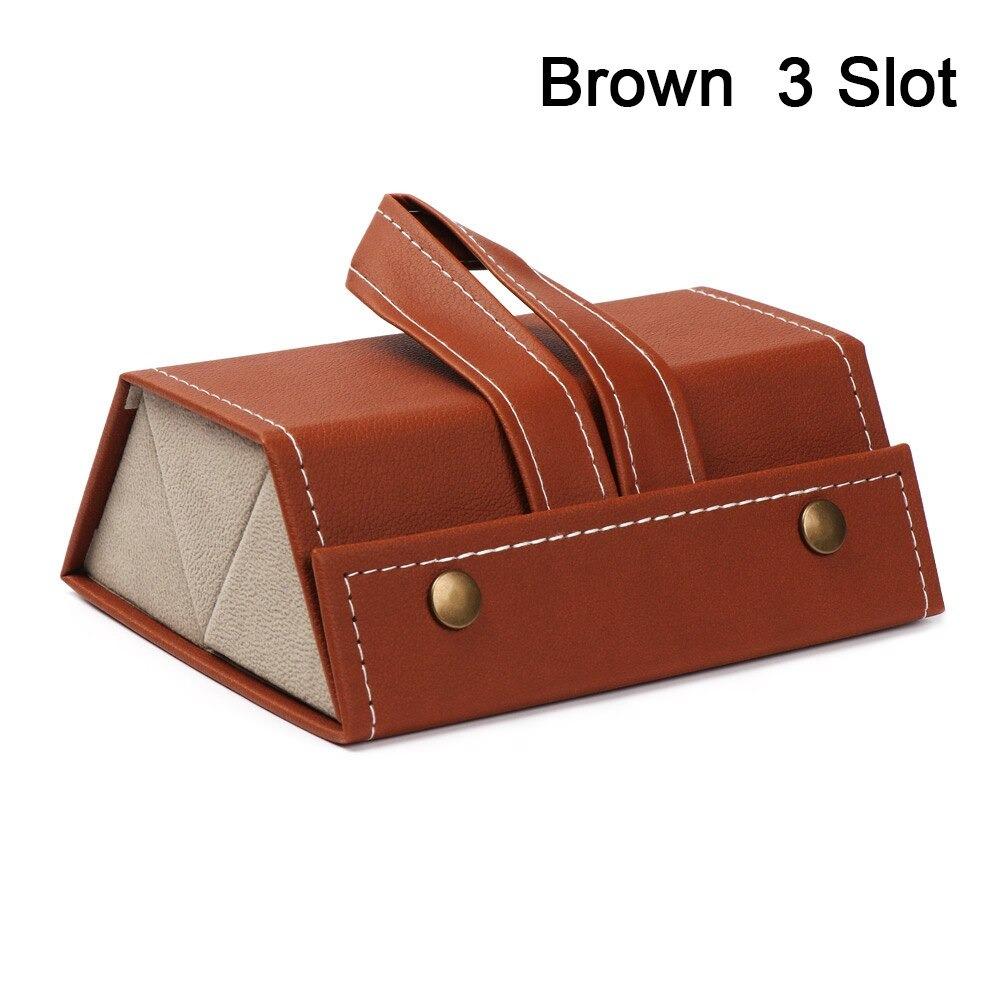 3 Slot brown
