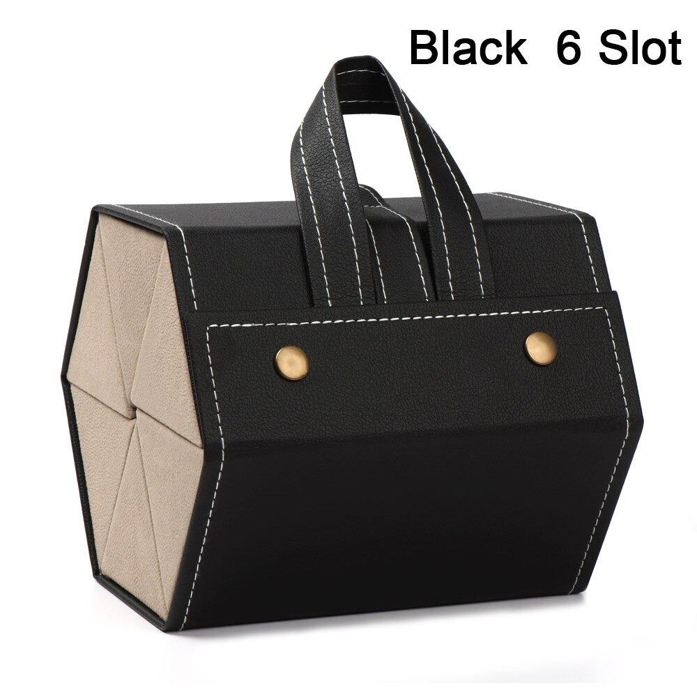6 Slot black